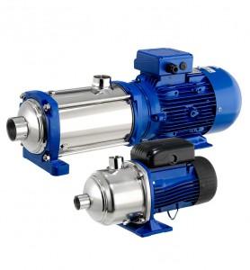 e-HM Elettropompe centrifughe orizzontali multistadio