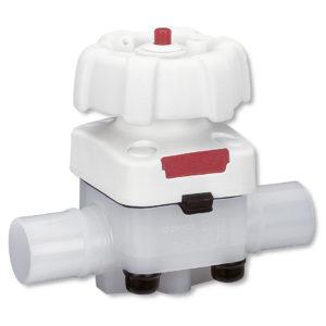 Valvola a membrana in plastica GEMÜ 677 HP
